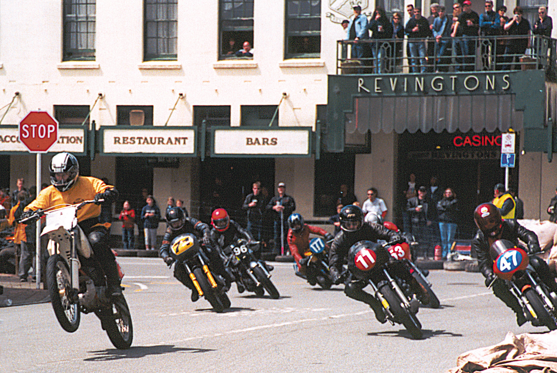 Greymouth Motorcycle Street Races